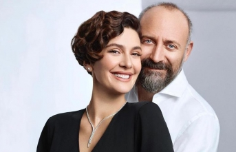 Bergüzar Korel ve Halit Ergenç'ten Mutlu Haber
